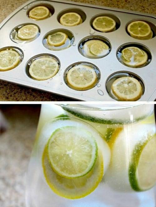 Hielos con limón