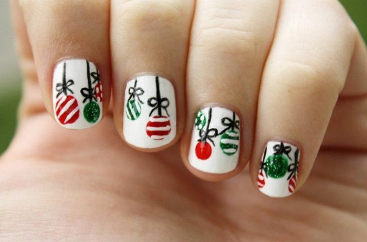 Uñas de navidad (1)
