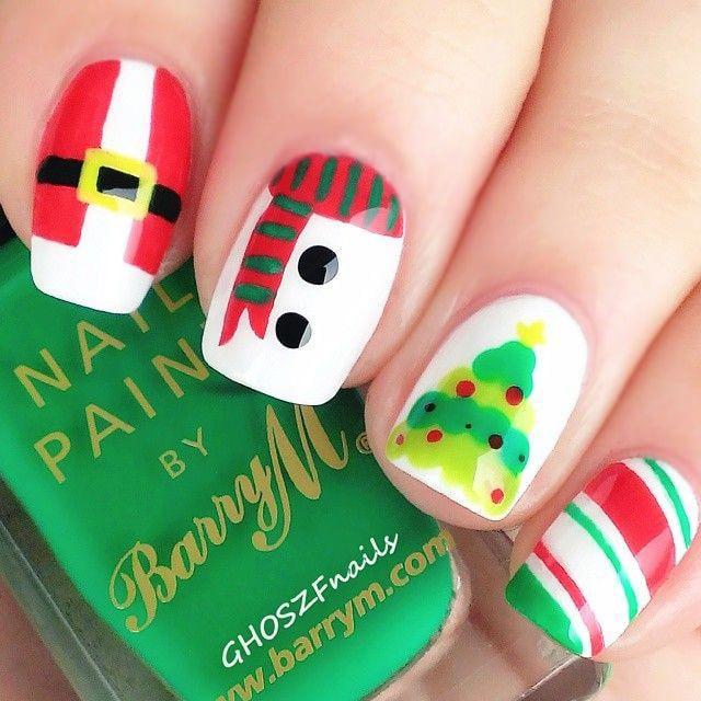 Uñas de navidad (25)