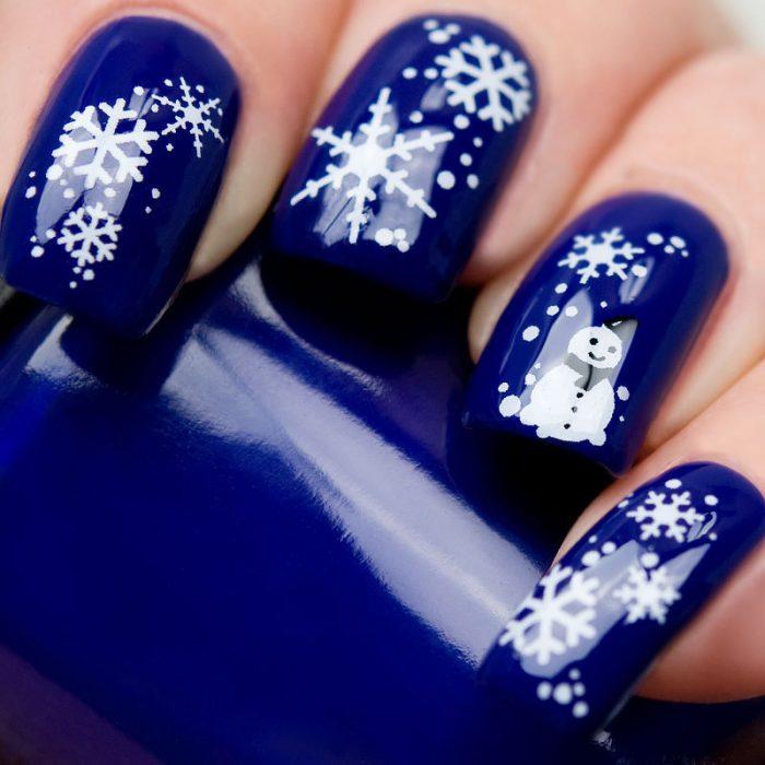 Uñas de navidad (27)