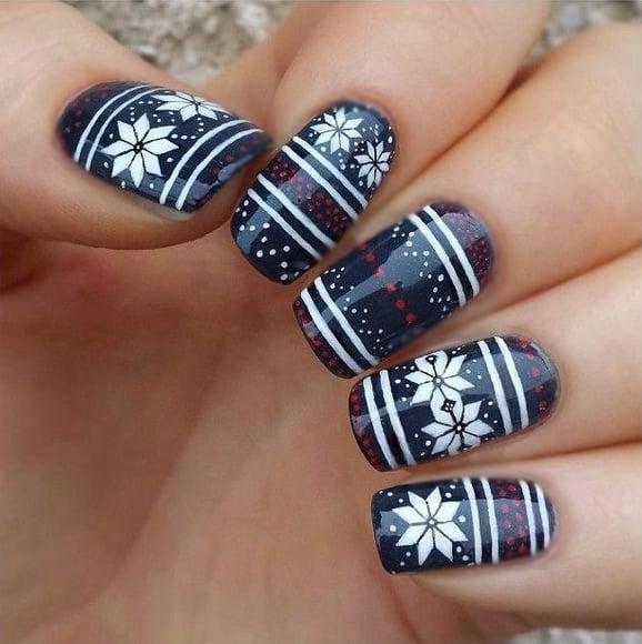 Uñas de navidad (33)