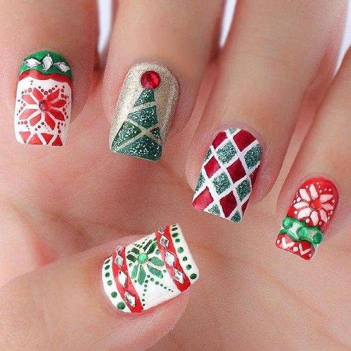 Uñas de navidad (34)
