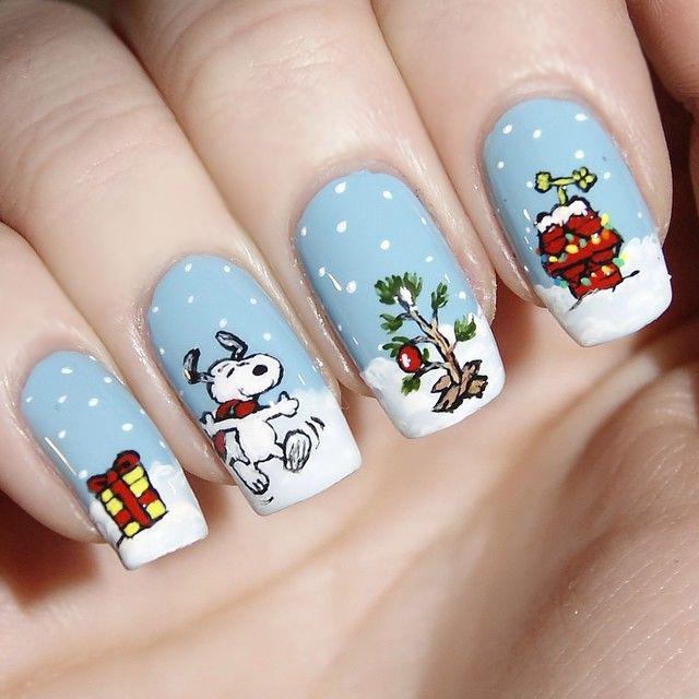 Uñas de navidad (38)