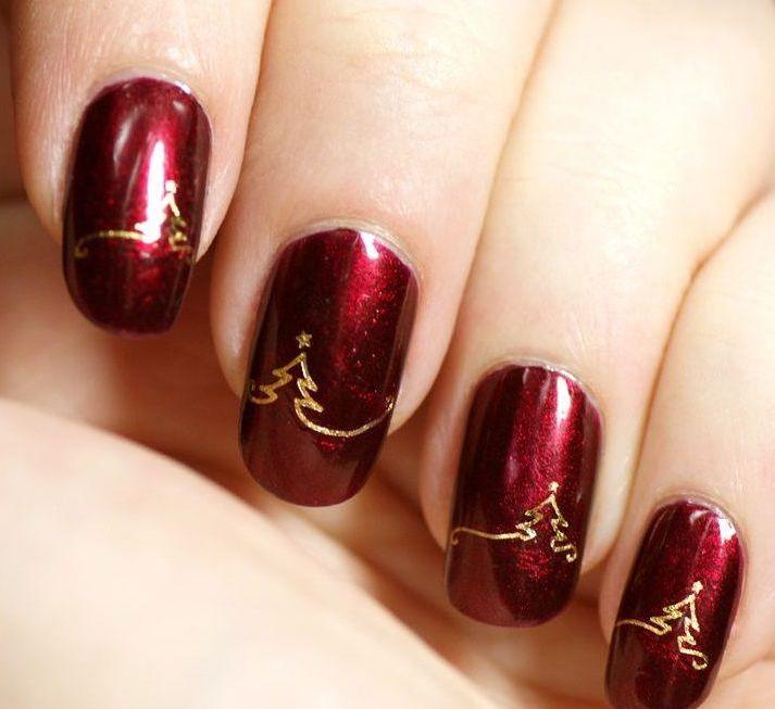 Uñas de navidad (39)