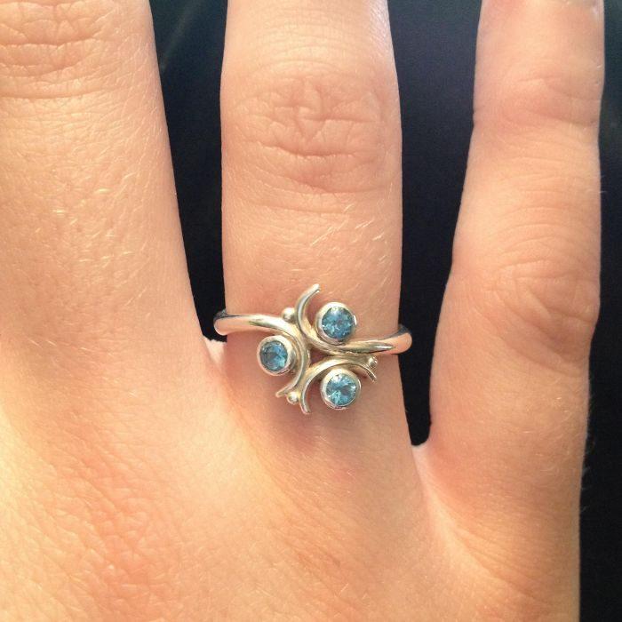 anillo de compromiso de legend of zelda