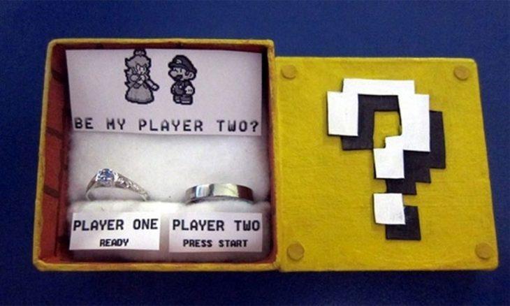 anillo de compromiso geek de mario broos