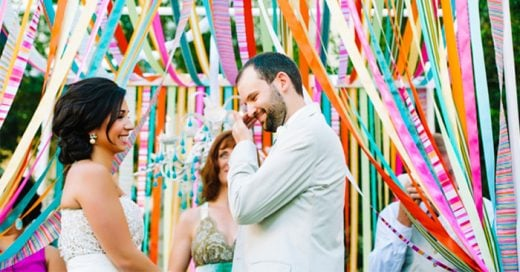 Ideas creativas y divertidas para agregarle color a una boda