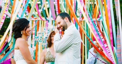 Ideas creativas y divertidas para agregarle color a una boda