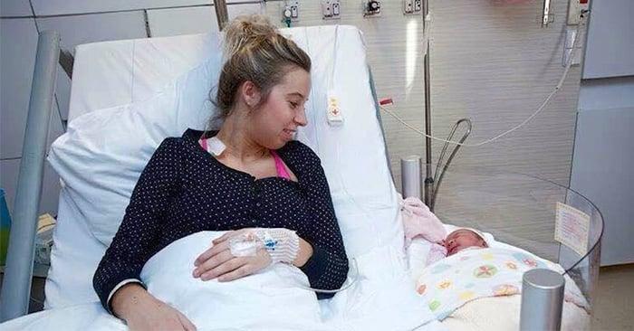 Nueva cama de maternidad y brillantes inventos que le facilitarán la vida quien acaba de dar a luz