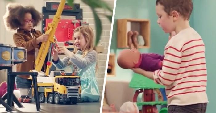 Este emotivo comercial francés busca derribar todos los estereotipos de género entre niños y niñas
