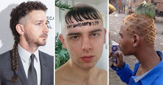 Cortes de cabello y peinados horribles que los hombres nunca se deben hacer
