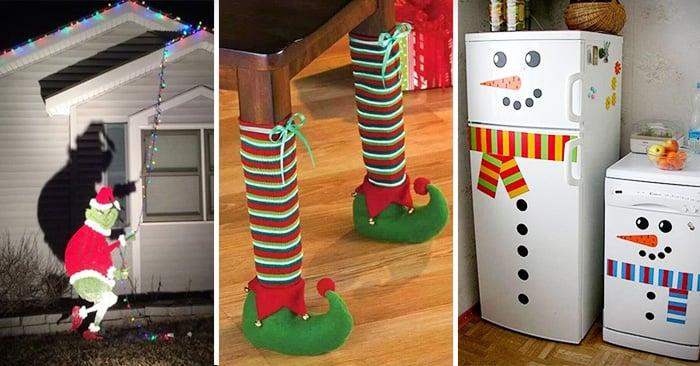 Decoraciones creativas y divertidas para esta temporada navideña para tu hogar