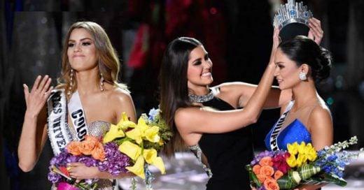 Presentador de Miss Universo 2015 comete grave error y coronan por error a Miss Colombia en lugar de Miss Filipinas