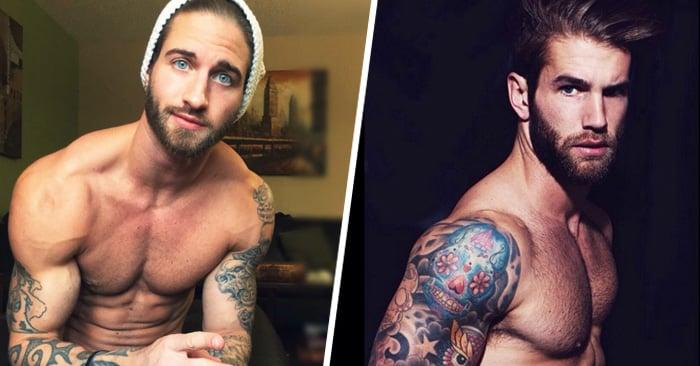Aquí las razones de porque a las mujeres les gustan los hombres tatuados y con barba