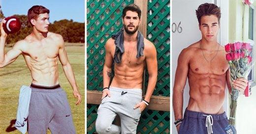 20 fotografías de hombre muy sexys en pants gris que enloquecen a las mujeres