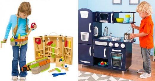 20 Fotos de niños y niñas que desafían los estereotipos que los juguetes establecen