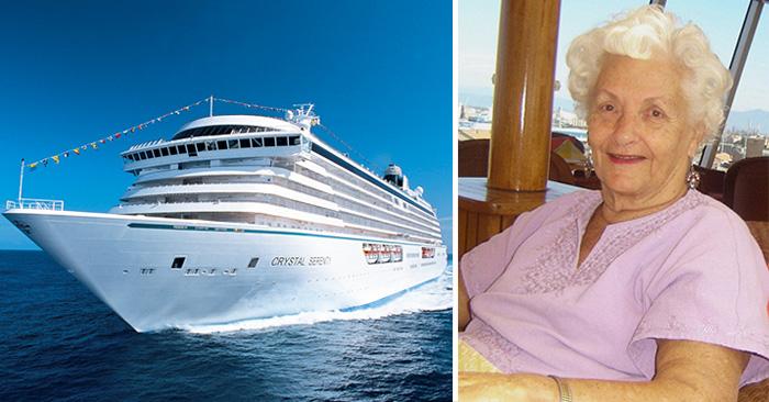 Una mujer de 86 años lleva 7 años viviendo en un crucero de lujo