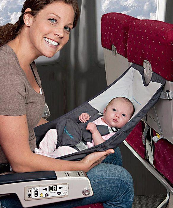 Silla para bebé de viaje