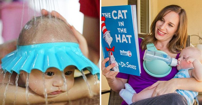 Objetos que facilitan la vida a los padres para cuidar o atender a sus hijos pequeños