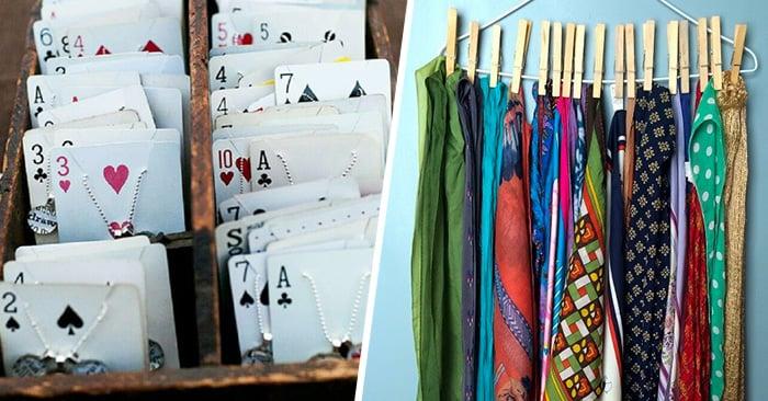 Ideas increíbles y sencillas para organizar las cosas pequeñas de tu hogar
