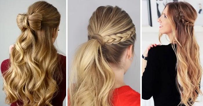 Ideas de estilos de cabello para usar en las fiestas de fin de año