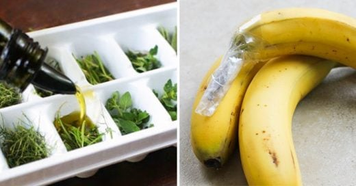 Sencillos trucos de cocina que te ayudaran a no desperdiciar comida