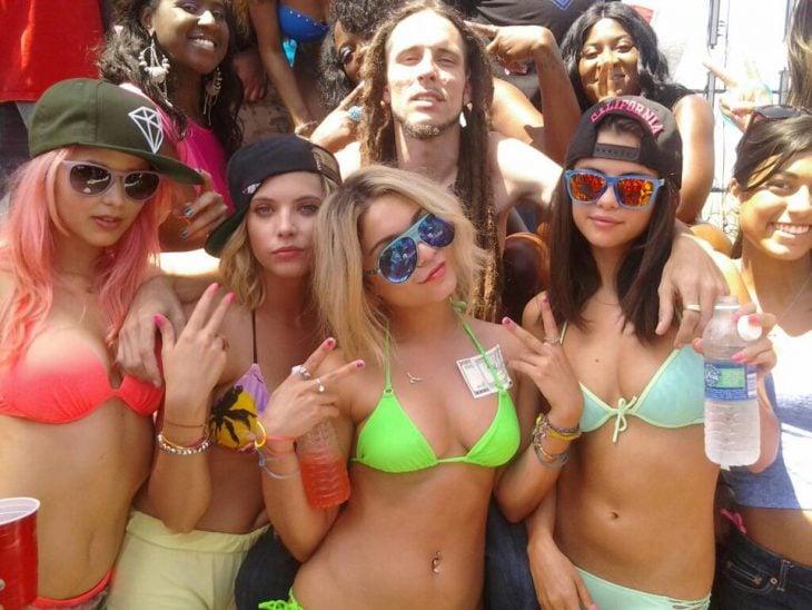 chicas de fiesta vacaciones spring break