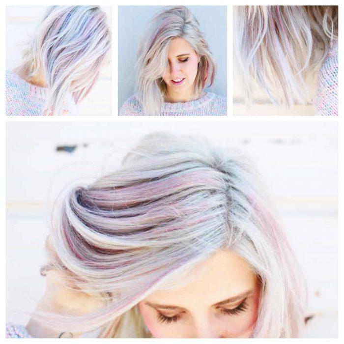 cabello estilo opal cololores pastel