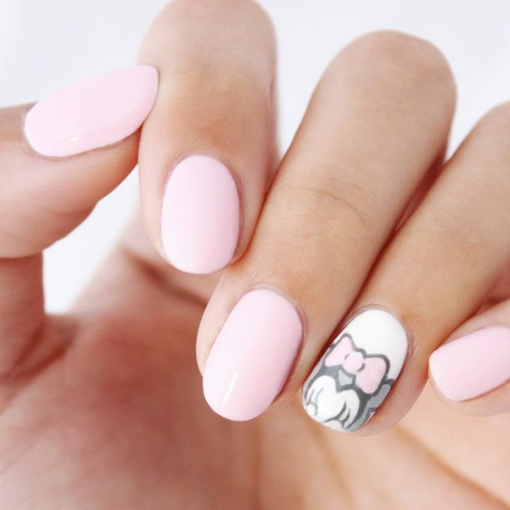 11 Tipos de formas de uñas que existen. Uña en forma de round
