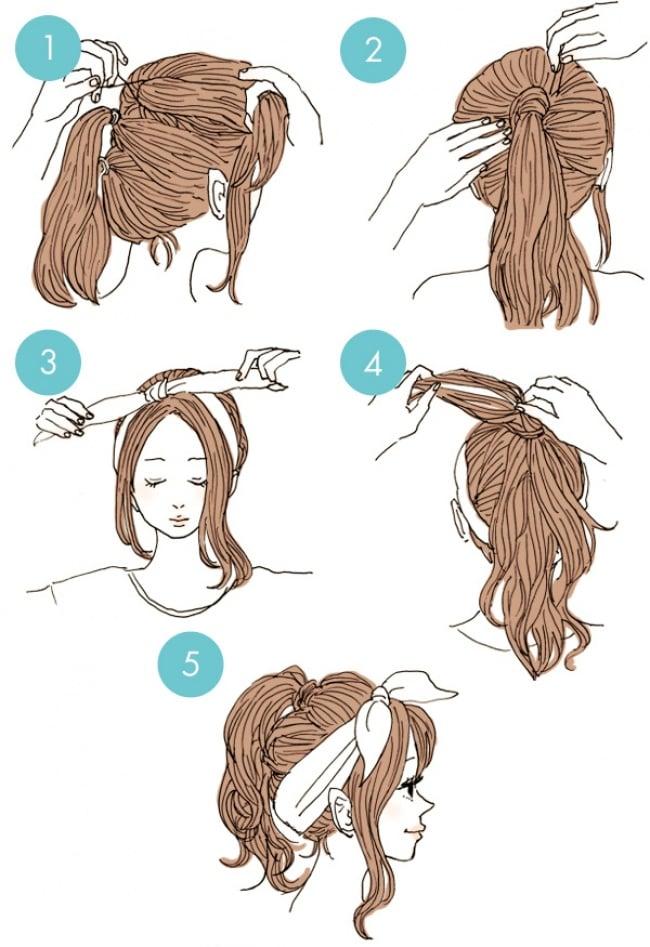 15 Estilos De Peinados Rapidos Y Sencillos De Hacer