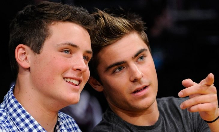 Zac y Dylan Efron