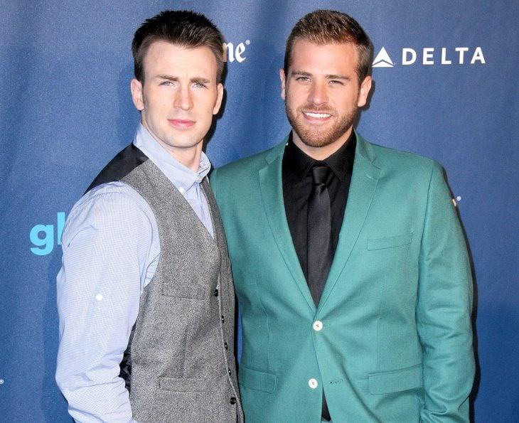 Chris y Scott Evans