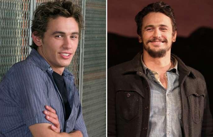 James Franco antes y después