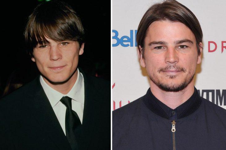 Josh Harnett antes y después