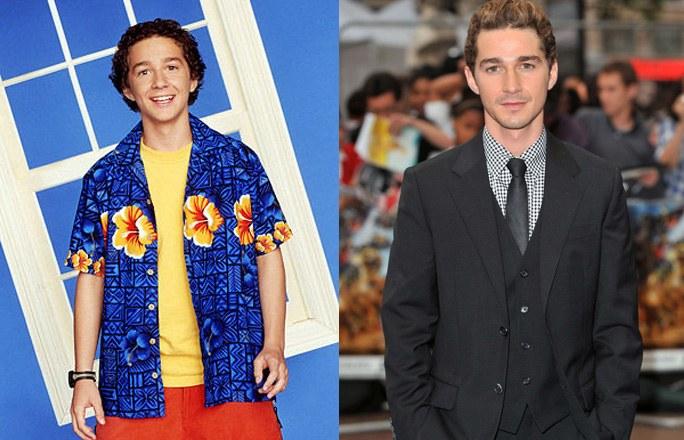 Shia LaBeouf antes y después