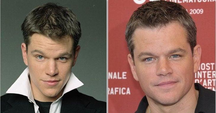 Matt Damon antes y después
