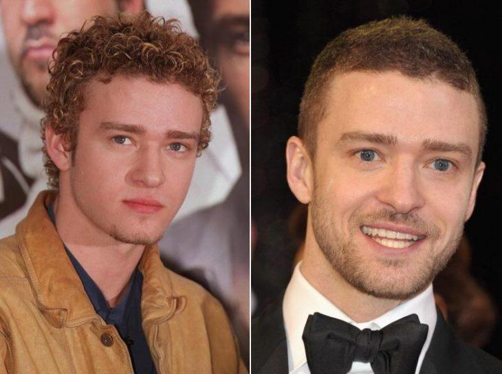 Justin Timberlake antes y ahora
