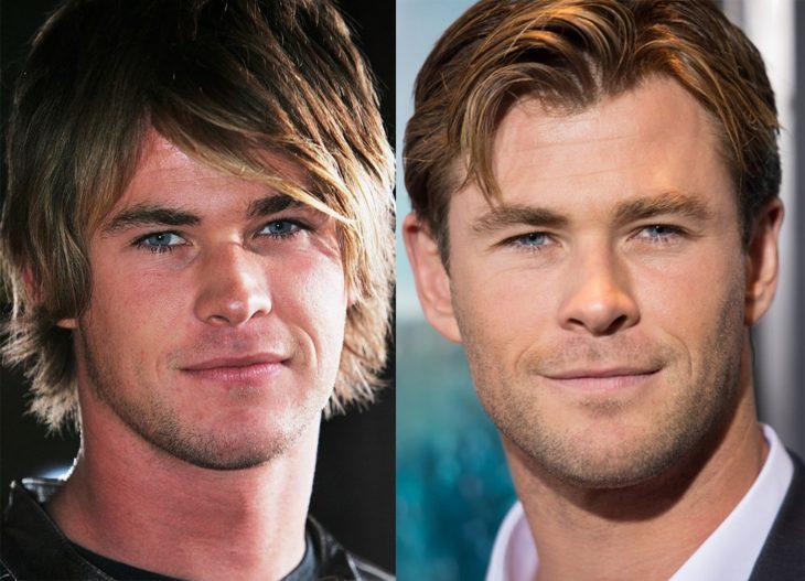 Chris Hemsworth 2006 y ahora