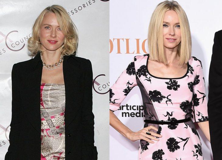 Naomi Watts 2006 y ahora