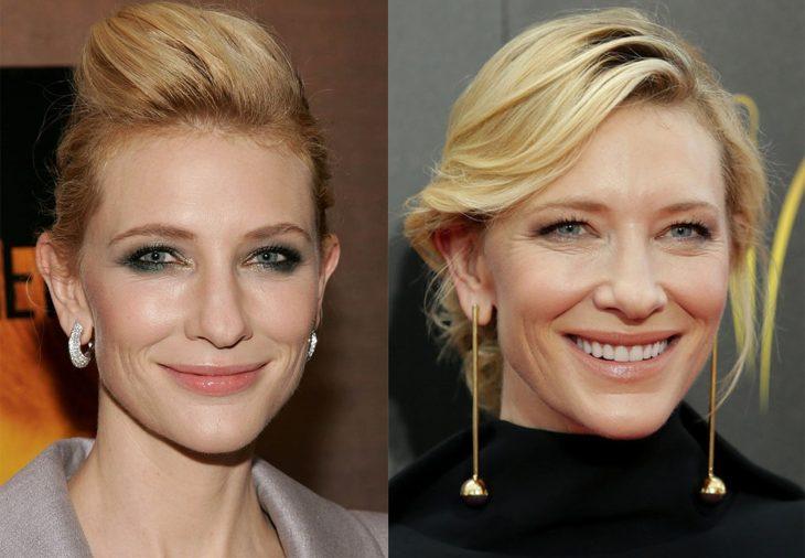 Cate Blanchett 2006 y ahora