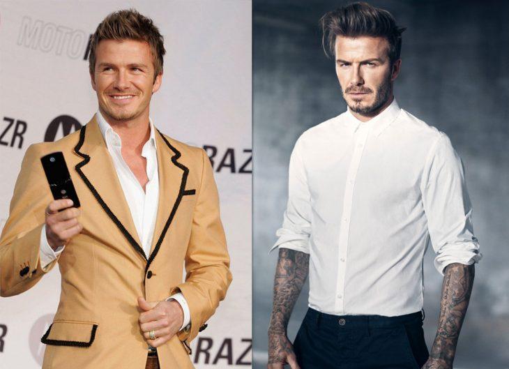 David Beckham 2006 y ahora