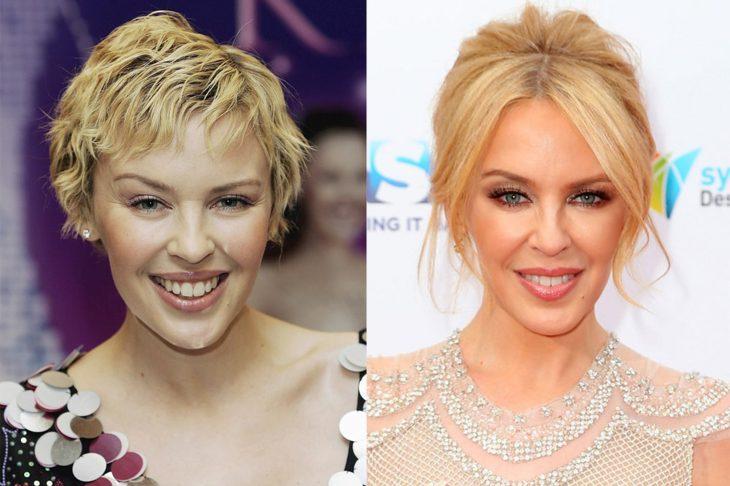 Kylie Minogue 2006 y ahora