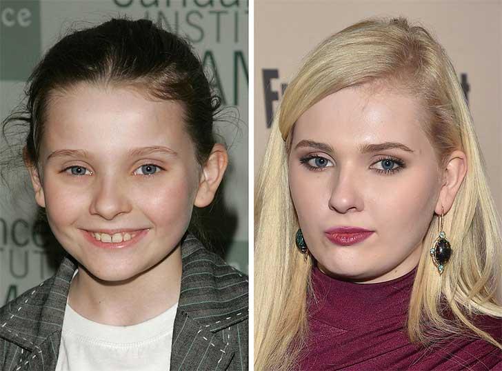 Abigail Breslin 2006 y ahora
