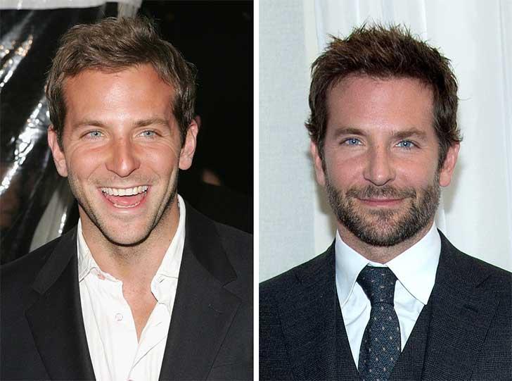 Bradley Cooper 2006 y ahora
