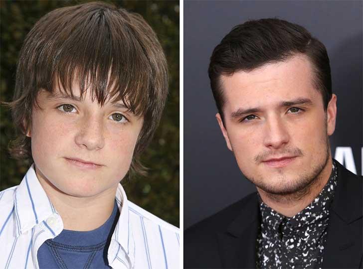 Josh Hutcherson 2006 y ahora