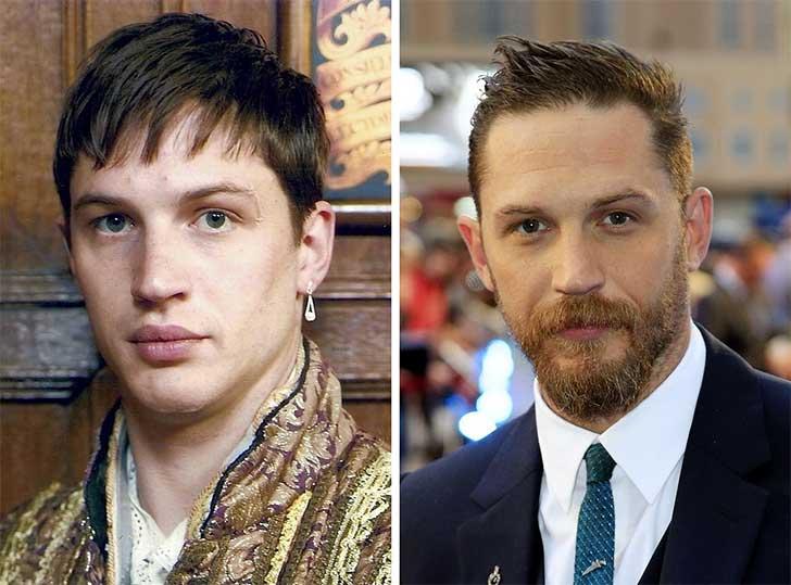 Tom Hardy 2006 y ahora