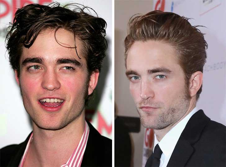 Robert Pattinson 2006 y ahora