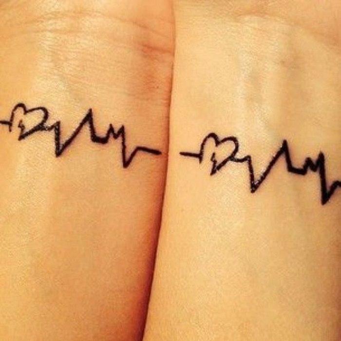 tatuaje electrocardiograma