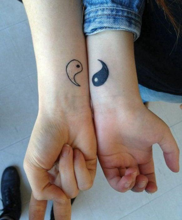 tatuajes yin y yang