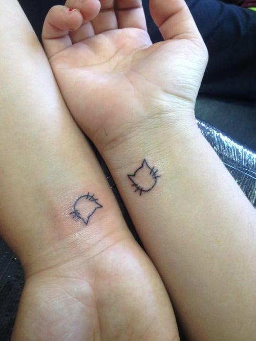 tatuajes gatitos